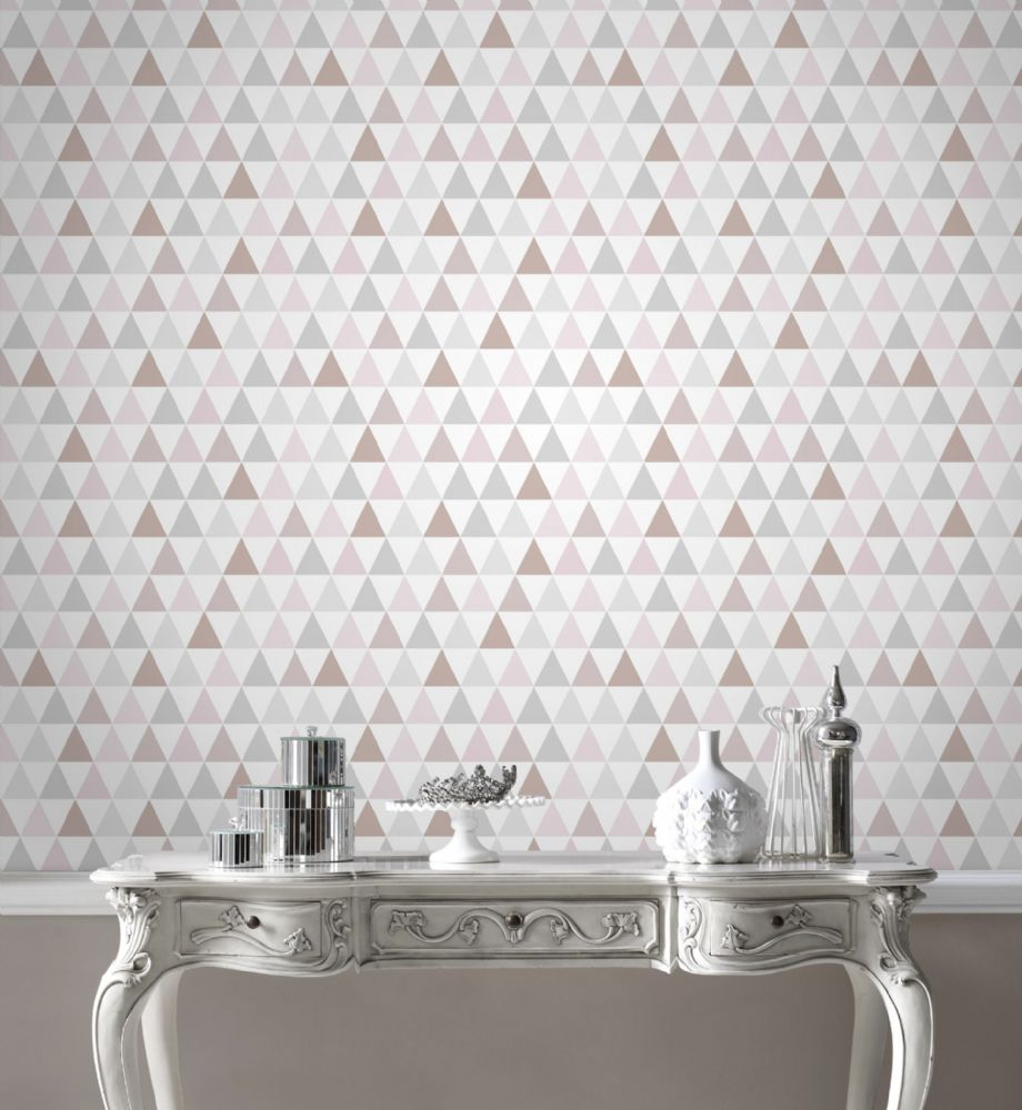 Graham and Brown Tarek Rose Gold 103168 Wallpaper